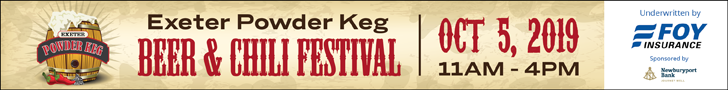 2019 Powder Keg Fest banner