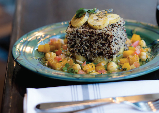 The Coop Quinoa-WildRiceCake
