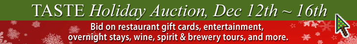 2017 Holiday Auction Banner