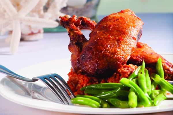 Roasted Half Chicken, Seaglass Restaurant
