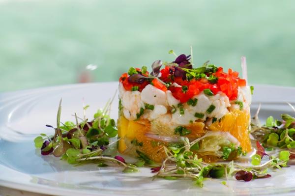 Halibut Ceviche, Seaglass Restaurant