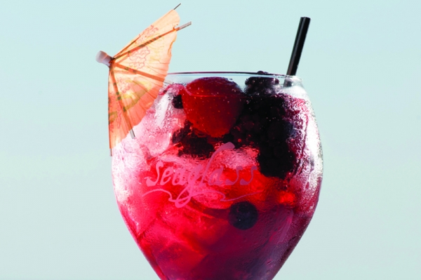 Summer Sangria, Seaglass Restaurant