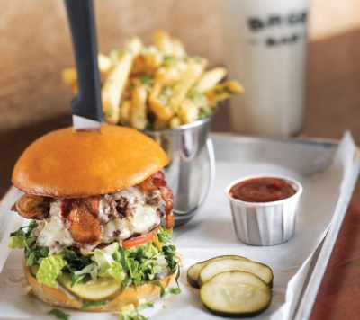 The BRGR burger