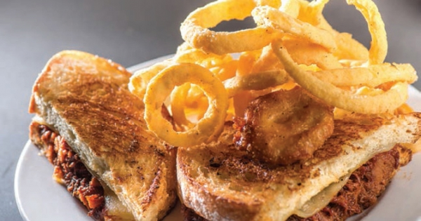 Grilled Cheese Stuffed With Award-Winning Pulled Pork