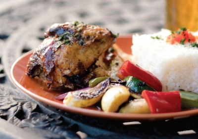 Caribbean Style Roasted Chicken